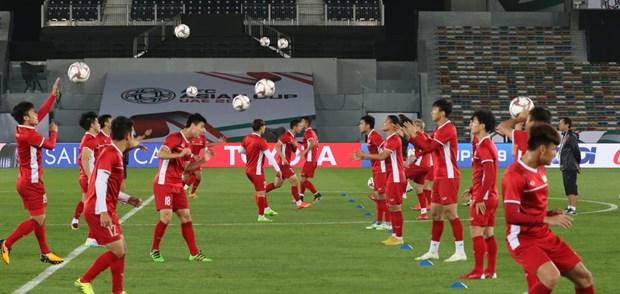 Doi tuyen Viet Nam tu tin cho don Iraq tai Asian Cup 2019 hinh anh 1