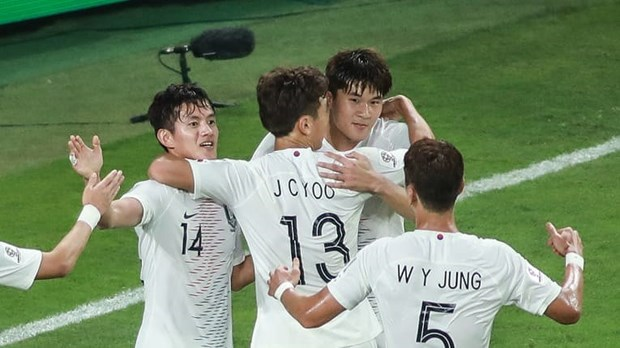 [Video] Ha Kyrgyzstan, Han Quoc thang tien vong 1/8 Asian Cup hinh anh 1