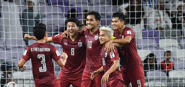 Doi tuyen Thai Lan gianh ve vao vong 1/8 Asian Cup 2019 hinh anh 1