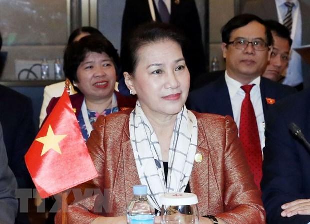 Chu tich Quoc hoi Nguyen Thi Kim Ngan du be mac APPEF-27 hinh anh 1