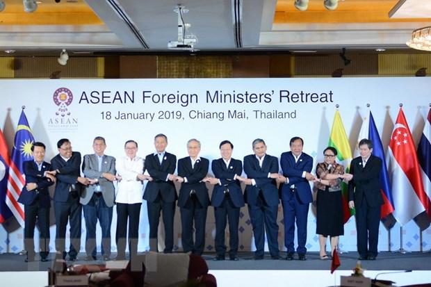 Khai mac Hoi nghi hep Bo truong Ngoai giao ASEAN 2019 hinh anh 1
