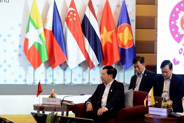 Khai mac Hoi nghi hep Bo truong Ngoai giao ASEAN 2019 hinh anh 2