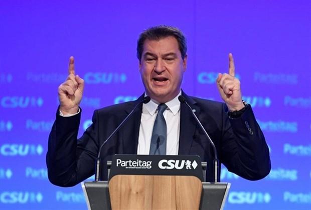 Duc: Tan Chu tich CSU cam ket tang cuong hop tac voi CDU hinh anh 1