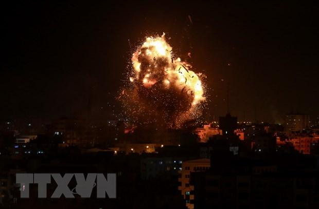 Israel thong bao tien hanh khong kich cac muc tieu Iran tai Syria hinh anh 1