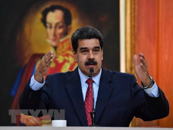 Tong thong Venezuela phan doi tuyen bo cua nhom Lima ve khung hoang hinh anh 1
