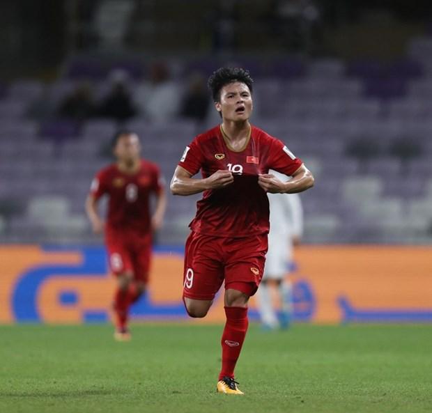Nguyen Quang Hai gianh giai Ban thang dep nhat Asian Cup 2019 hinh anh 1