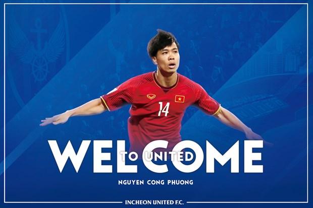 Cong Phuong chinh thuc gia nhap Incheon United, khoac ao so 23 hinh anh 1