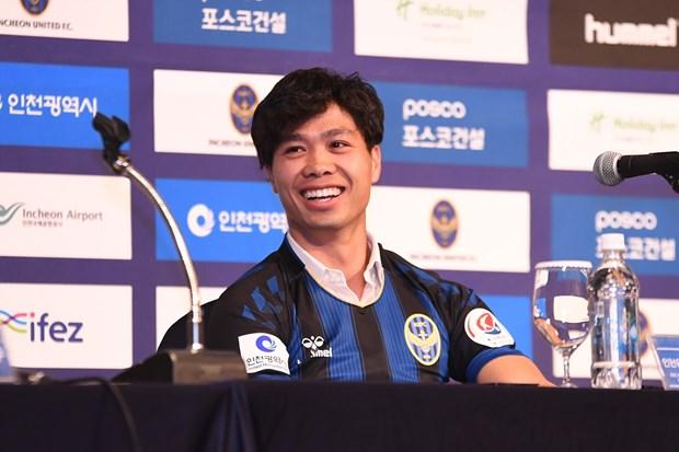 Cong Phuong noi gi trong ngay ra mat CLB Incheon United? hinh anh 1