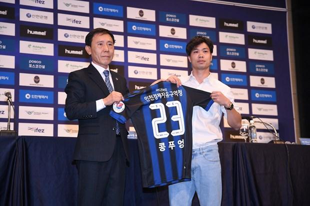 Cong Phuong noi gi trong ngay ra mat CLB Incheon United? hinh anh 2