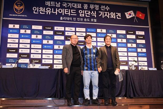 Cong Phuong noi gi trong ngay ra mat CLB Incheon United? hinh anh 3