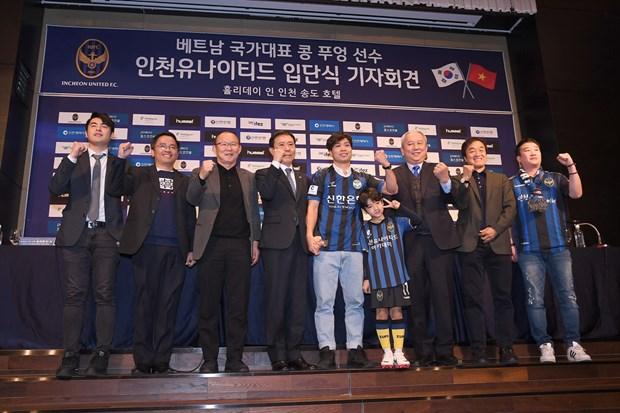 Cong Phuong noi gi trong ngay ra mat CLB Incheon United? hinh anh 4