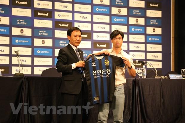 Cong Phuong chinh thuc ra mat co dong vien Incheon United hinh anh 1