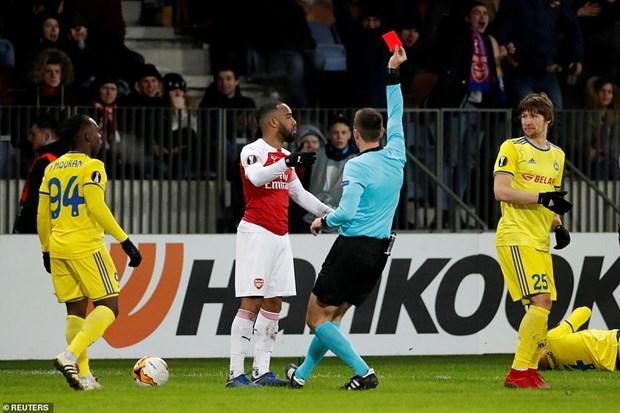 Ket qua bong da: Arsenal thua soc, dai dien La Liga tung bung hinh anh 1