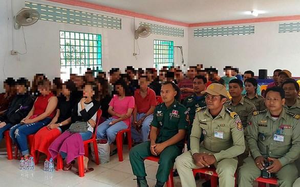 47 cong dan Malaysia bi Campuchia giam giu duoc tha tu do hinh anh 1