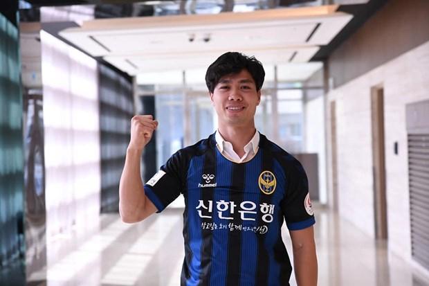 Cong Phuong ghi ban trong tran dau ra mat CLB Incheon United hinh anh 1