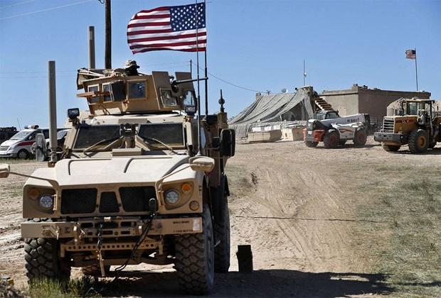 Iraq cho phep binh sy My di qua lanh tho de rut khoi Syria hinh anh 1