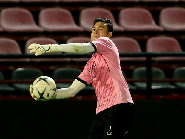 Dang Van Lam mac sai lam o tran ra mat Muangthong United hinh anh 1