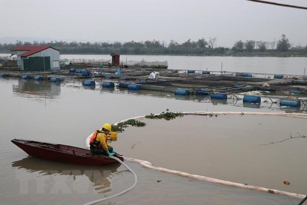 Tran dau tren song Kinh Thay: Khoang 85% luong dau tran duoc thu gom hinh anh 1