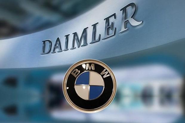 BMW va Daimler thong bao se hop tac de phat trien he thong tu lai hinh anh 1
