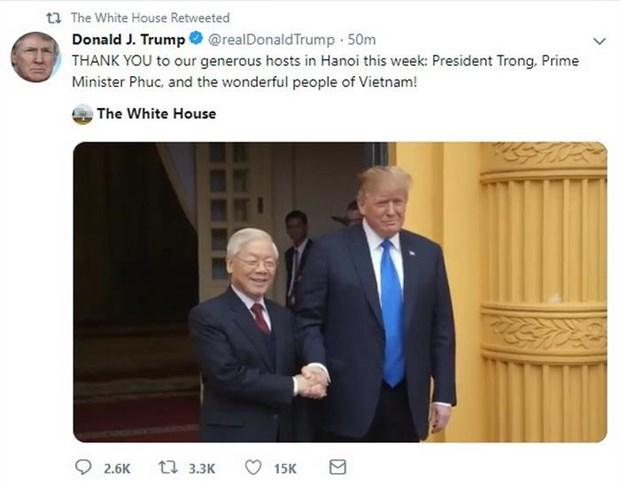 Tong thong My gui loi cam on toan the nguoi dan Viet Nam hinh anh 1