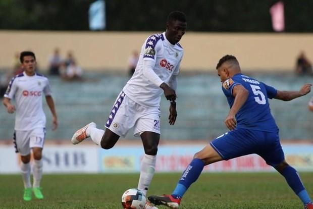 Ket qua vong 2 V-League: Ha Noi FC nhoc nhan co diem truoc Quang Nam hinh anh 1