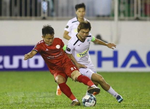 Ket qua vong 2 V-League: Ha Noi FC nhoc nhan co diem truoc Quang Nam hinh anh 2