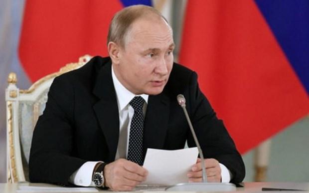 Tong thong Putin: Nga tran ap thanh cong gian diep nuoc ngoai hinh anh 1