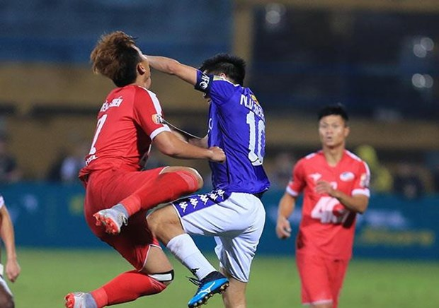 Van Quyet linh the do, Ha Noi FC van thang Viettel o tran derby hinh anh 1