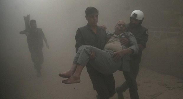 Syria bac bao cao cua OPCW ve viec su dung vu khi hoa hoc tai Douma hinh anh 1