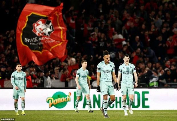Ket qua Europa League: Chelsea thang dam, Arsenal thua tham hinh anh 1
