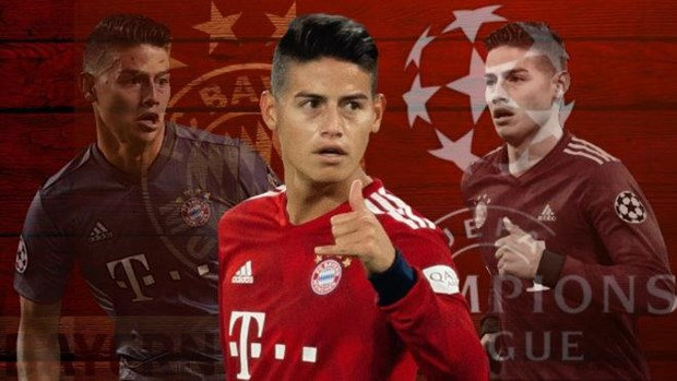 James Rodriguez ham nong tran cau 'sinh tu' Bayern - Liverpool hinh anh 1