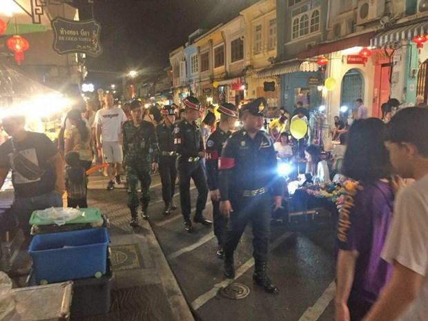 Canh sat Thai Lan bat nghi pham danh bom hang loat o mien Nam hinh anh 1