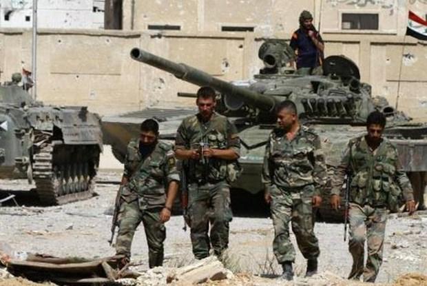 Quan doi Syria chan dung cuoc tan cong lieu chet o tinh Hama hinh anh 1