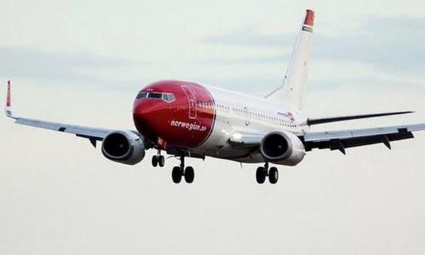 May bay Boeing 737 MAX 8 cua Na Uy bat ngo doi huong tren khong hinh anh 1