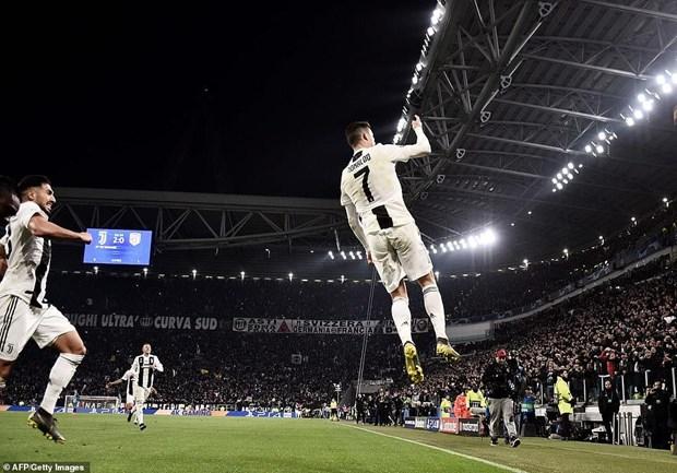 Ronaldo lập hat-trick, Juventus ngược dòng loại Atletico Madrid - 1