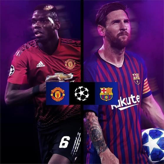 Tu ket Champions League: M.U gap Barcelona, Tottenham - Man City hinh anh 1