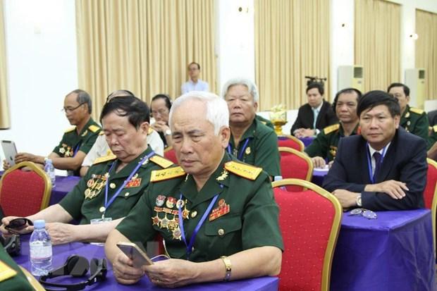 Doan dai bieu cuu quan tinh nguyen Viet Nam lam viec tai Campuchia hinh anh 1