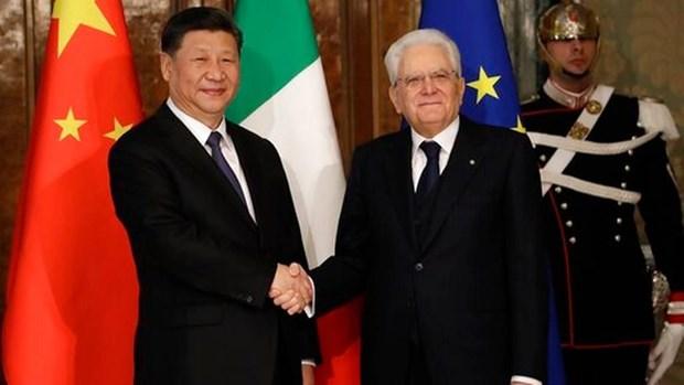 Italy va Trung Quoc thong nhat nam 2020 la Nam Van hoa va du lich hinh anh 1