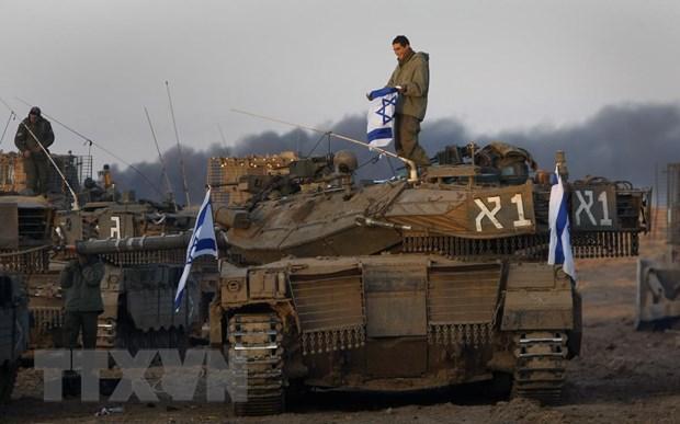 Hang tram nguoi Palestine thuong vong trong cuoc tuan hanh lon o Gaza hinh anh 1