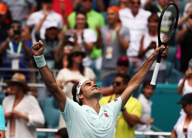 'Ha guc nhanh' Isner, Federer lan thu tu len ngoi tai Miami Open hinh anh 1