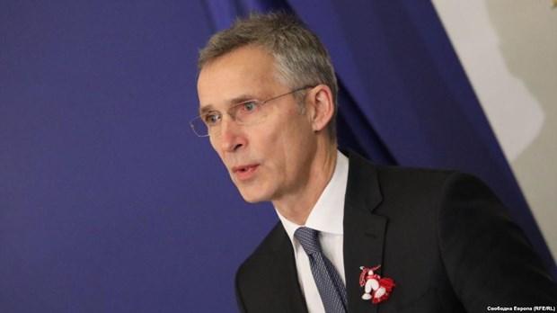 Hoi nghi ngoai truong NATO tap trung vao Nga, chong khung bo hinh anh 1
