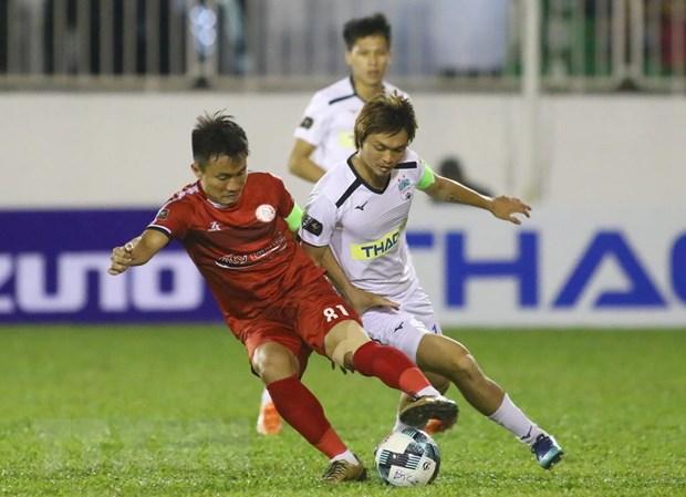 Vong 4 V-League: Ha Noi dau SLNA, 'noi chien' tai san Thong Nhat hinh anh 2