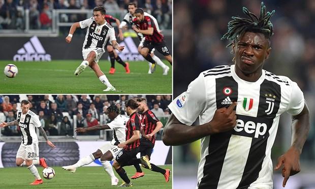 Nguoc dong ha Milan, Juventus cham tay vao ngoi vuong Serie A hinh anh 1