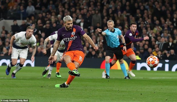 Champions League: Tottenham ha Man City, Liverpool gianh uu the hinh anh 1