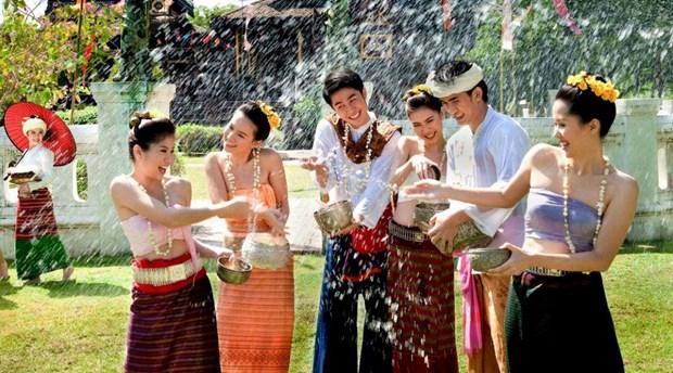Thai Lan tang cuong dam bao an toan trong dip le hoi Songkran hinh anh 1