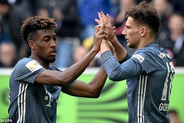 Bayern Munich vung ngoi dau Bundesliga sau man 'huy diet' hinh anh 2