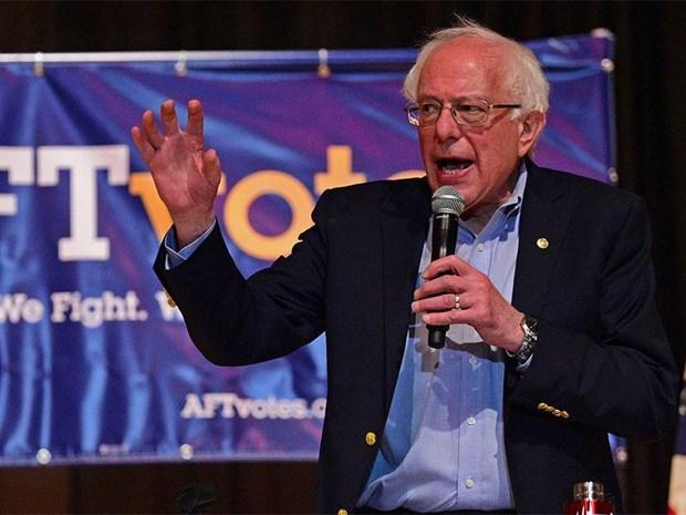 My: Ung cu vien tong thong Bernie Sanders cong khai ho so thue hinh anh 1