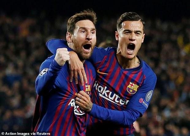 Ket qua Champions League: Barcelona loai M.U, Juventus thua soc hinh anh 1