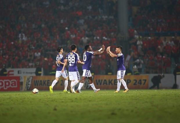 Hoang Vu Samson toa sang, Ha Noi FC nguoc dong danh bai Hai Phong hinh anh 2