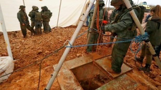 UNIFIL xac nhan duong ham thu ba vuot bien gioi Liban sang Israel hinh anh 1